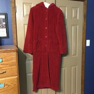Kristen Blake Full Length Nubby Fleece Coat